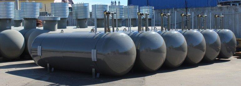 Подземные резервуары (ёмкости) СУГ 253